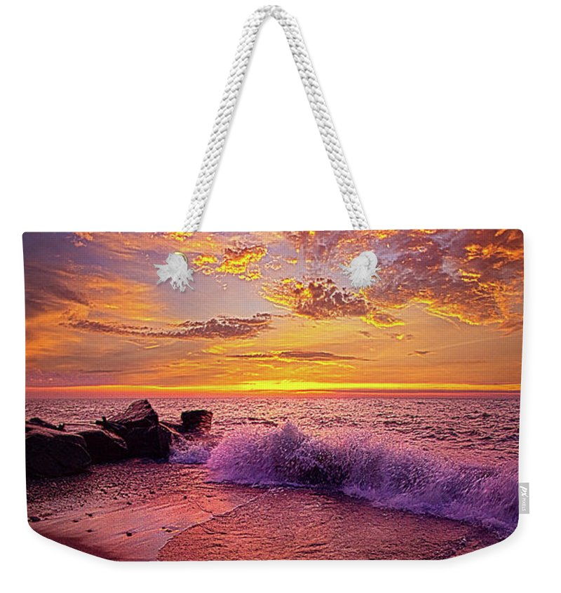 Life Weekender Tote Bag featuring the photograph Beautiful Things Never Ask For Attention by Phil Koch