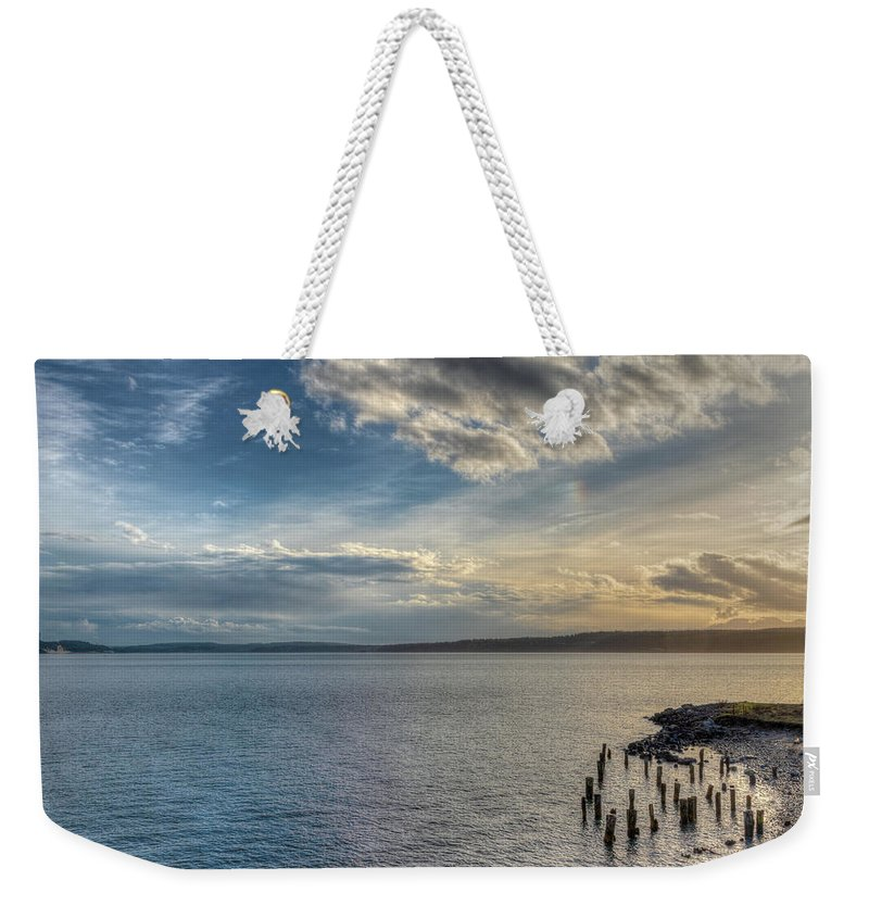 Port Townsend Weekender Tote Bag featuring the photograph Beyond Oz by Spencer McDonald