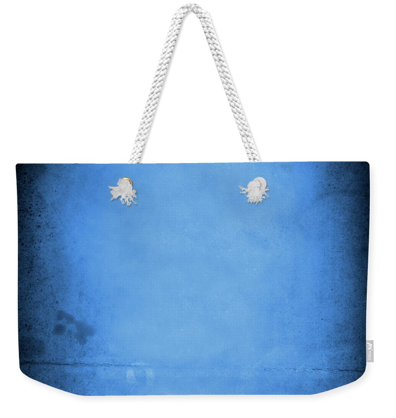 Burnt Weekender Tote Bag featuring the photograph Blue Drama by Thepalmer