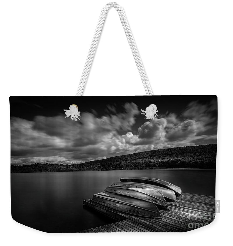 Boat Weekender Tote Bag featuring the photograph Boats For Rent by Marvin Spates