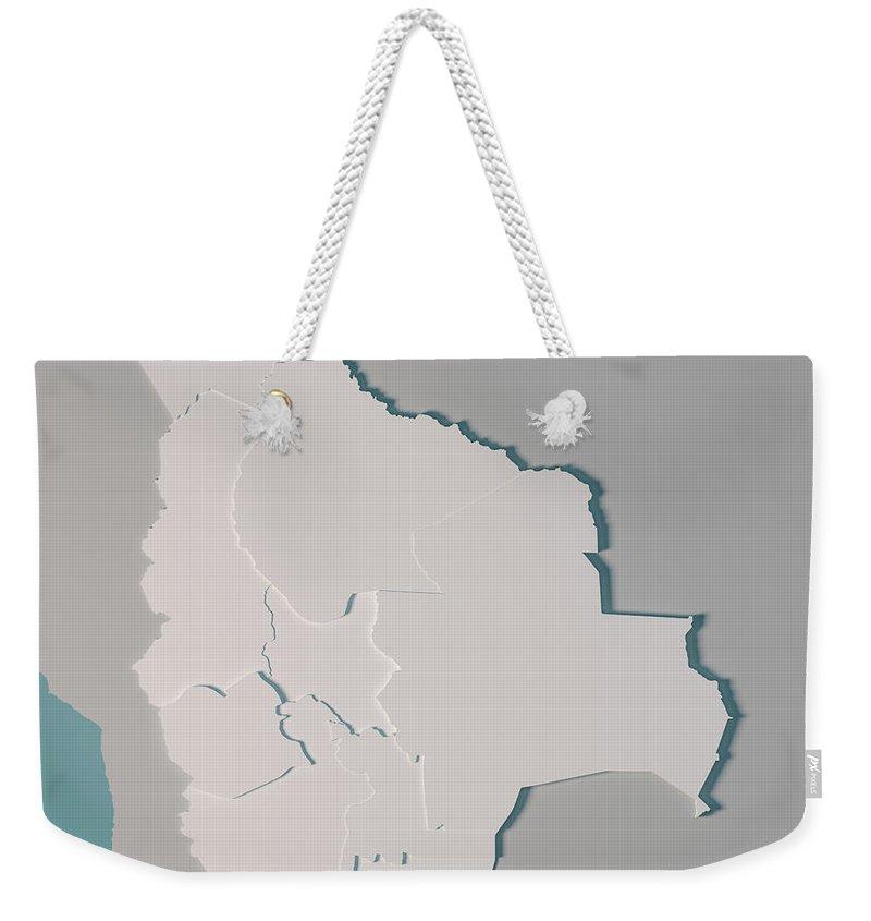 Bolivia Weekender Tote Bags