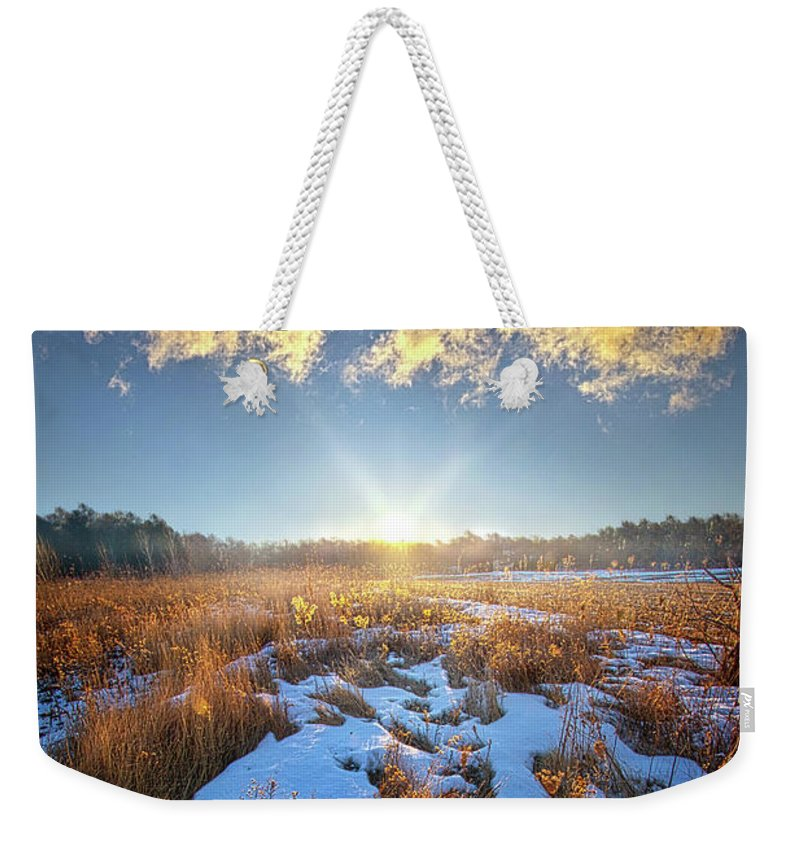Life Weekender Tote Bag featuring the photograph Bound Within The Silence by Phil Koch