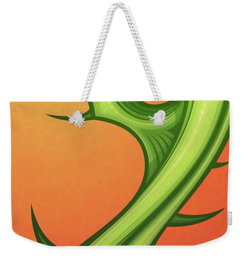 Orange Trees Weekender Tote Bags