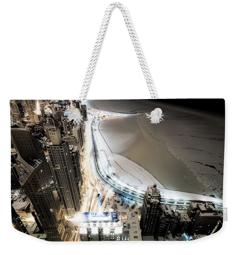Tranquility Weekender Tote Bag featuring the photograph Bright Night by Jnhphoto