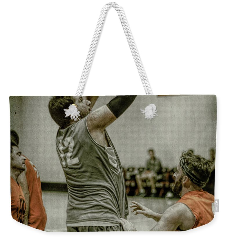 Matt Browning Weekender Tote Bag featuring the photograph Browning2 by Ronald Santini