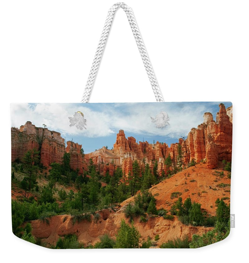 Scenics Weekender Tote Bag featuring the photograph Bryce Canyon by Wsfurlan