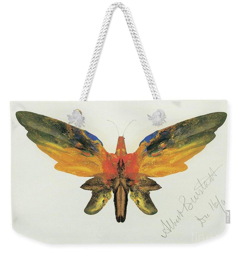 Decalcomania Weekender Tote Bags