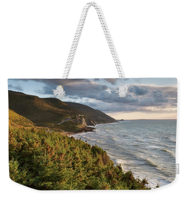 Scenics Weekender Tote Bag featuring the photograph Cabot Trail Scenic by Shayes17