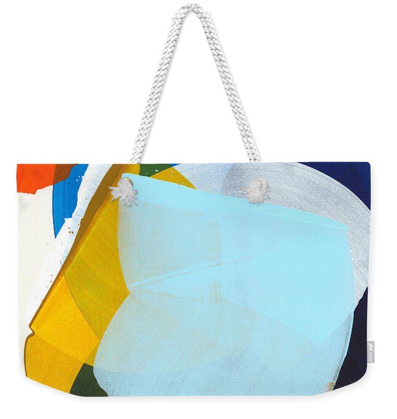 Abstract Weekender Tote Bag featuring the painting California 05 by Claire Desjardins
