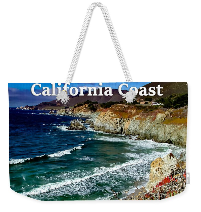 California Weekender Tote Bag featuring the photograph California Coast In Mendocino County by G Matthew Laughton