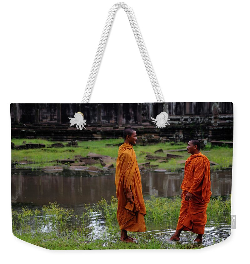 Southeast Asia Weekender Tote Bag featuring the photograph Cambodia by Rawpixel