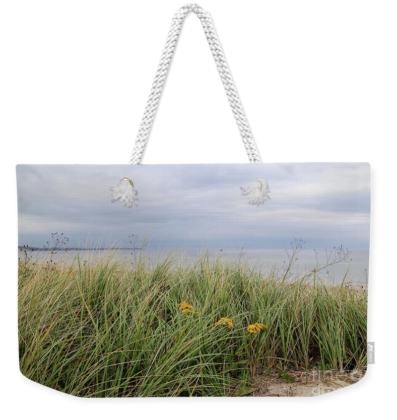 Cape Cod Weekender Tote Bag featuring the photograph Cape Cod Bay by April Ann Canada - Raleigh Art Gallery