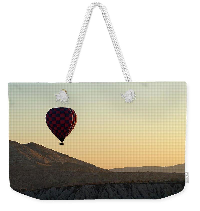 Scenics Weekender Tote Bag featuring the photograph Cappadocia Valley by Julian Kaesler
