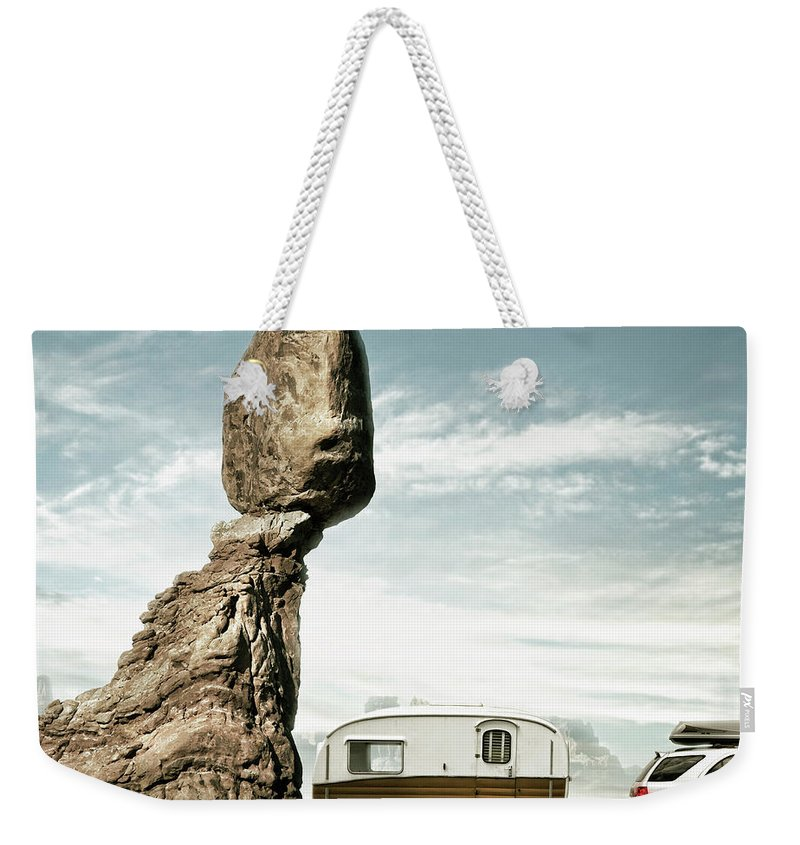 Camping Weekender Tote Bag featuring the photograph Careless Camping by Colin Anderson
