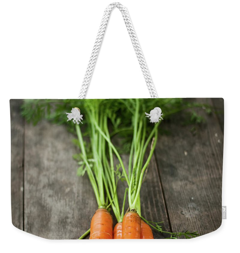 Bulgaria Weekender Tote Bag featuring the photograph Carrot by Kemi H Photography