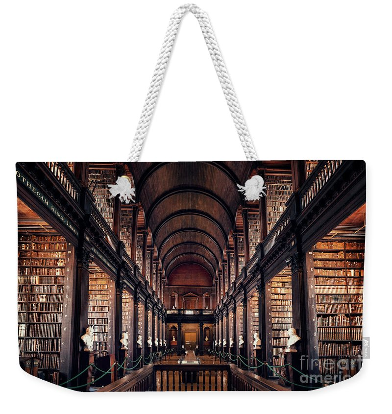 Kremsdorf Weekender Tote Bag featuring the photograph Chamber Of Eternal Wisdom by Evelina Kremsdorf