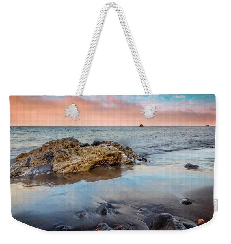 Channel Weekender Tote Bag featuring the photograph Channel Islands National Park Vii by Ricky Barnard