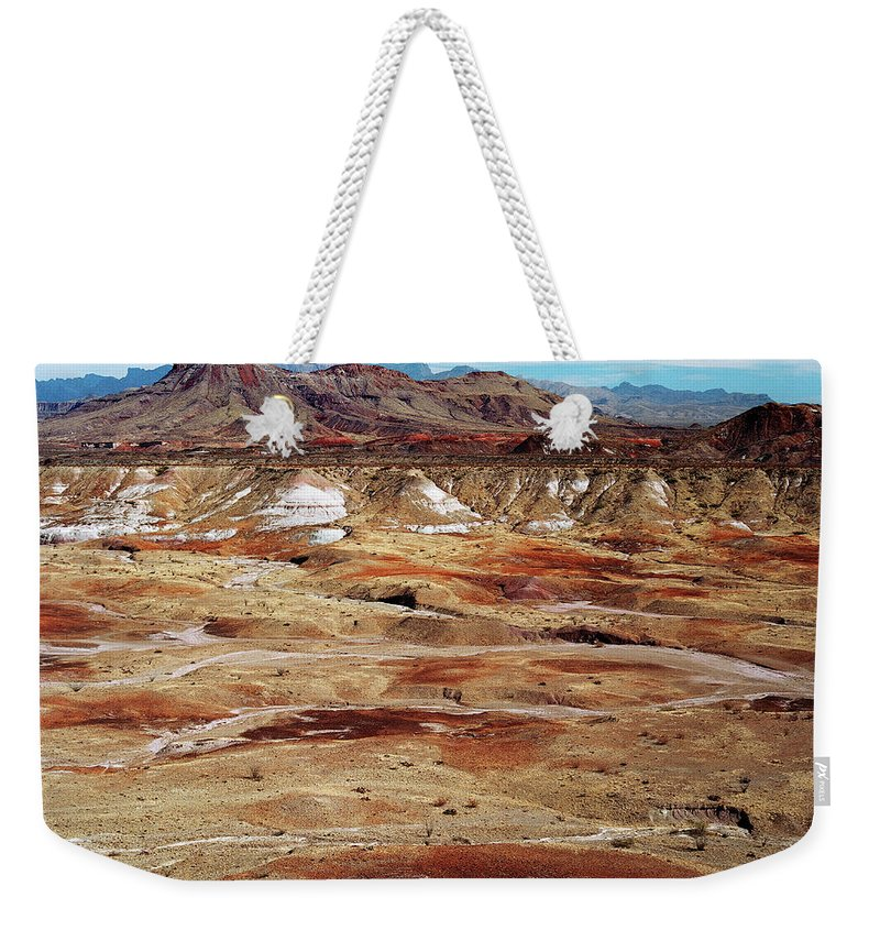Tranquility Weekender Tote Bag featuring the photograph Chihuahuan Desert, Big Bend N.p by Oleg Moiseyenko