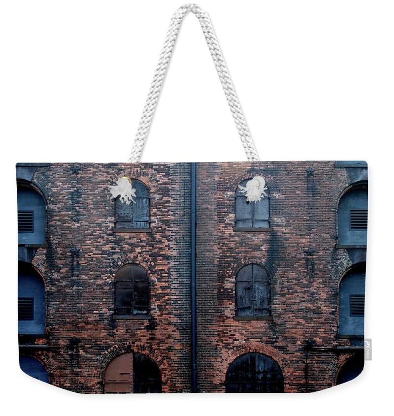 Outdoors Weekender Tote Bag featuring the photograph Civil War Era Spice Warehouse by © Rick Elkins