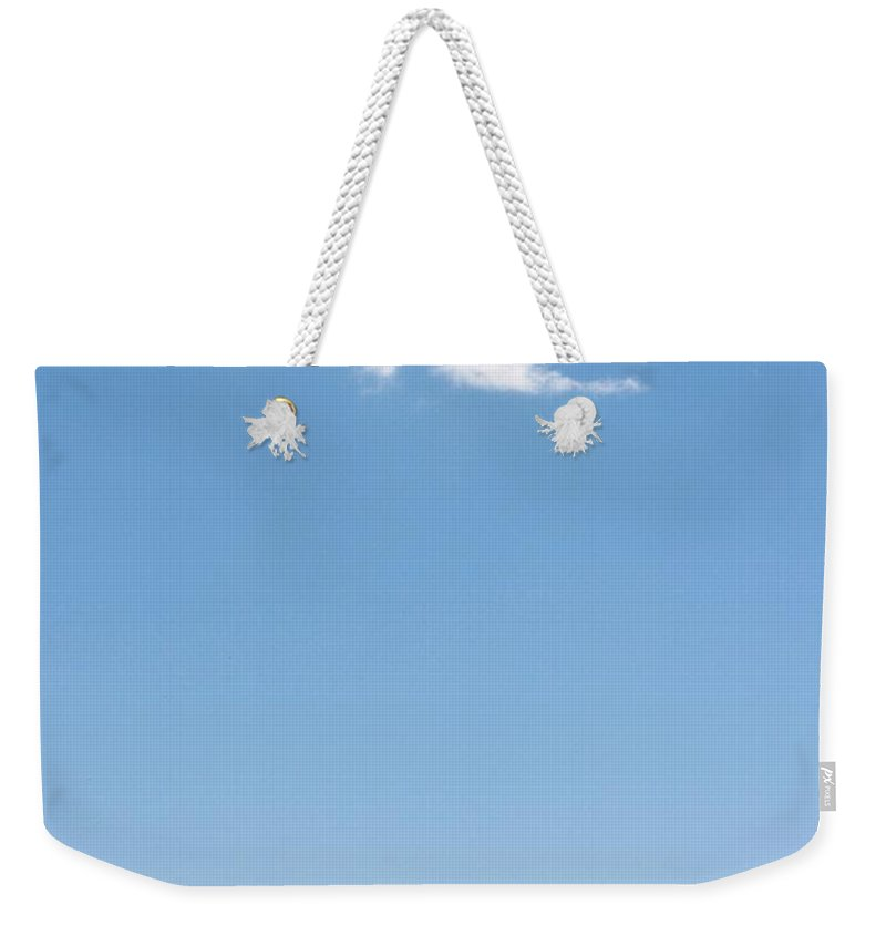 Grass Weekender Tote Bag featuring the photograph Cloudy by Wilhelm Bénard