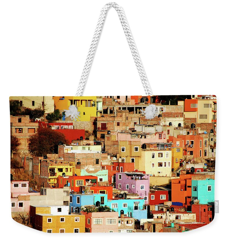 Tranquility Weekender Tote Bag featuring the photograph Colors On Hill by Nan Zhong