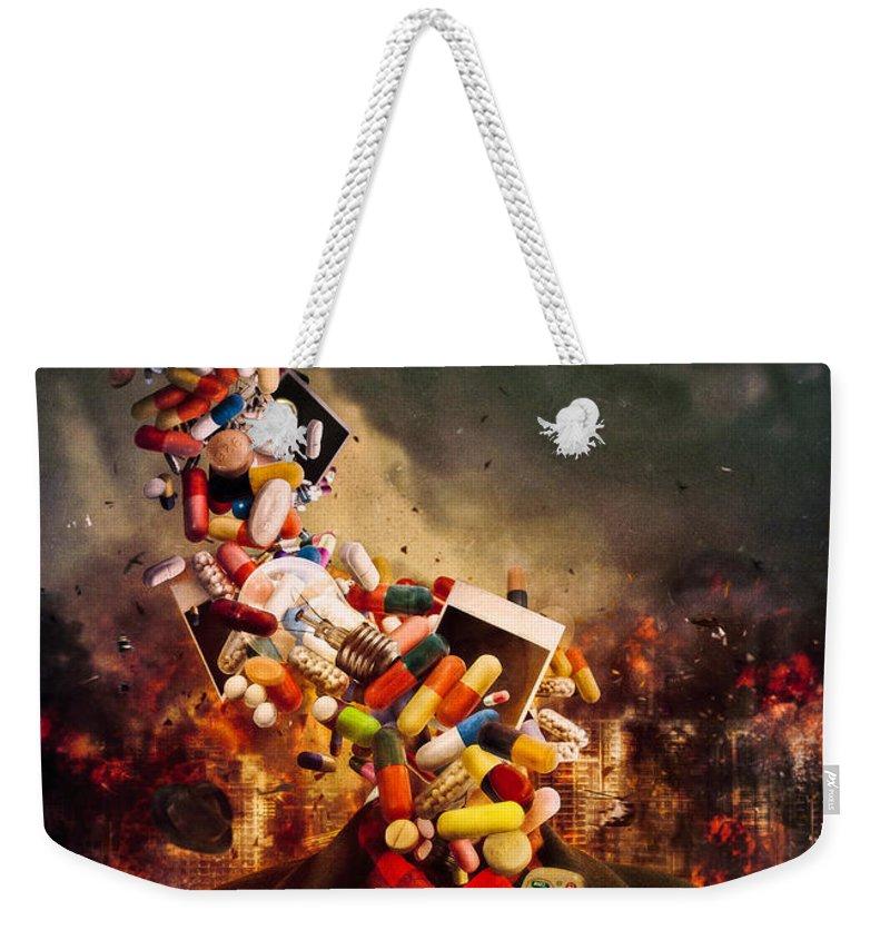 Capitalism Weekender Tote Bags