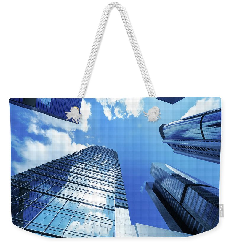 Corporate Business Weekender Tote Bag featuring the photograph Corporate Building by Samxmeg
