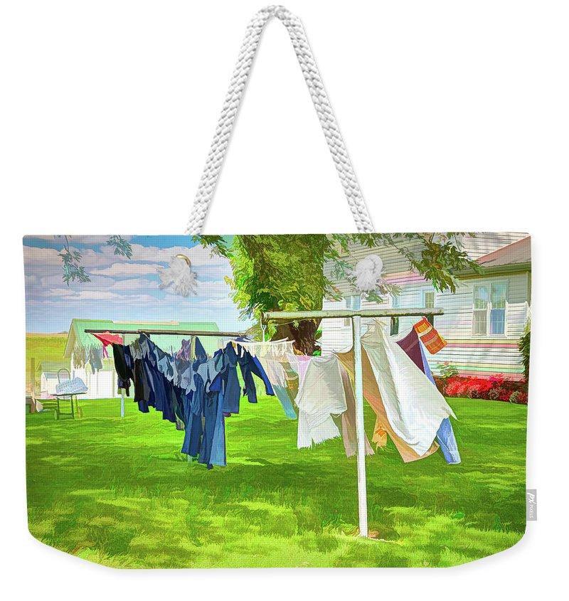 Holmes County Weekender Tote Bags