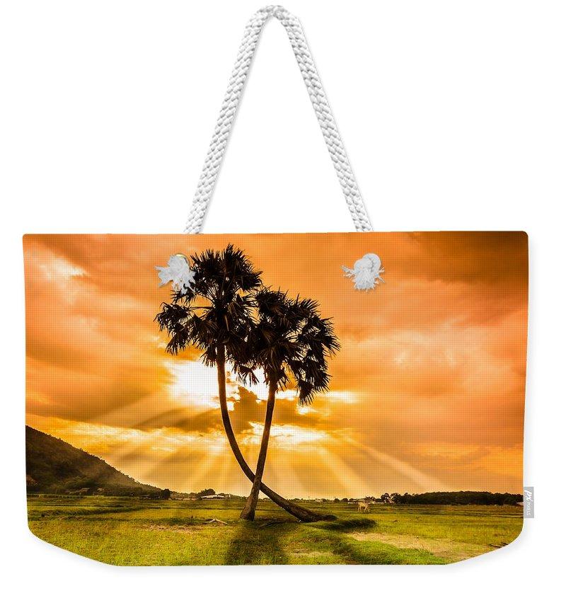 Couple In Love Weekender Tote Bags