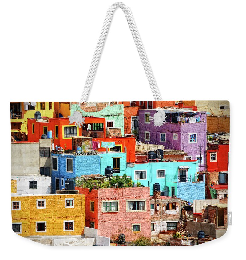 Stone Wall Weekender Tote Bag featuring the photograph Cultural Colonial Cities Of Mexico by Www.infinitahighway.com.br