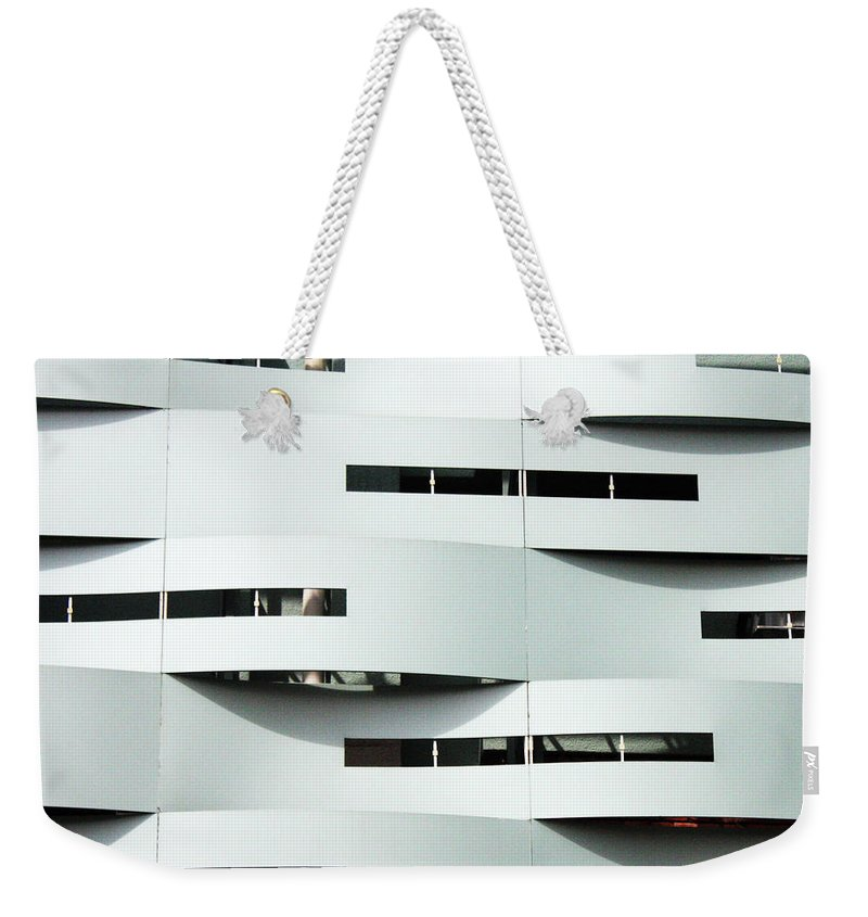 Curve Weekender Tote Bag featuring the photograph Curvilinear by Neaz Ahmed