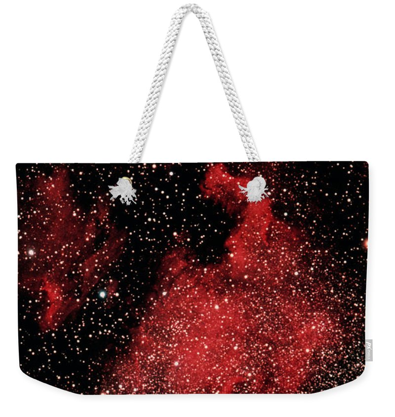 Constellation Weekender Tote Bag featuring the photograph Cygnus Constellation Satellite Image by Space Frontiers