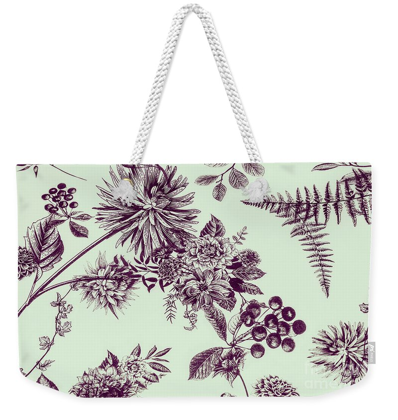 Ornate Weekender Tote Bag featuring the photograph Dandelion Design by Jorgo Photography - Wall Art Gallery