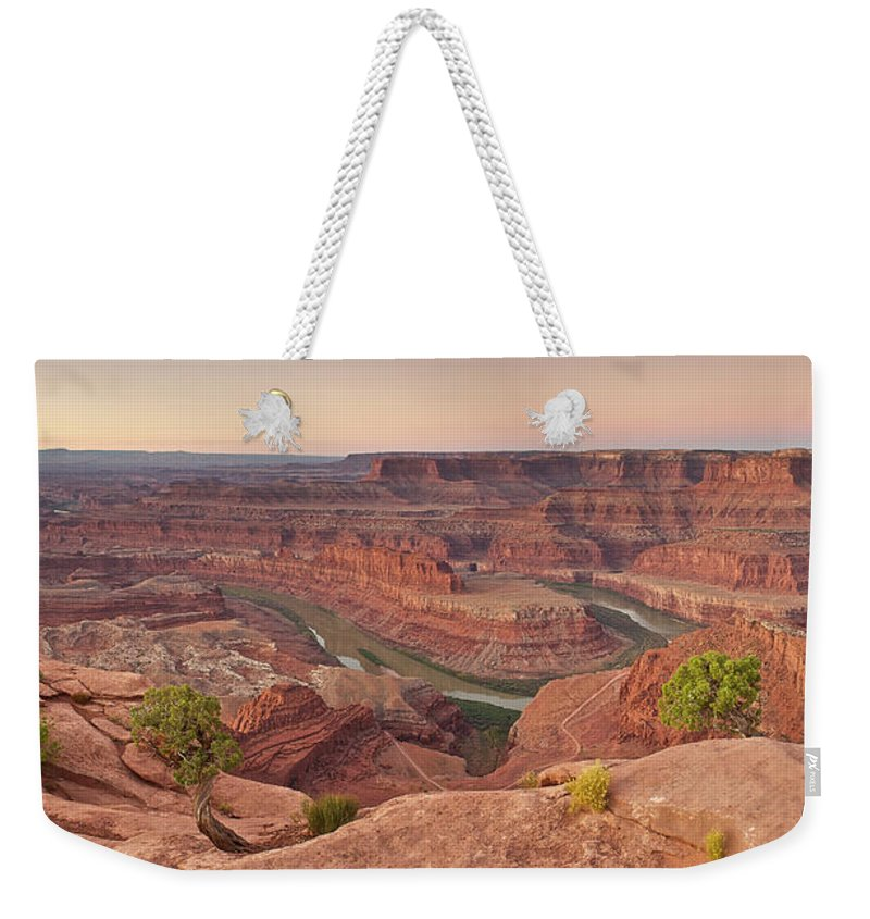 Scenics Weekender Tote Bag featuring the photograph Dead Horse Point State Park, Utah by Enrique R. Aguirre Aves