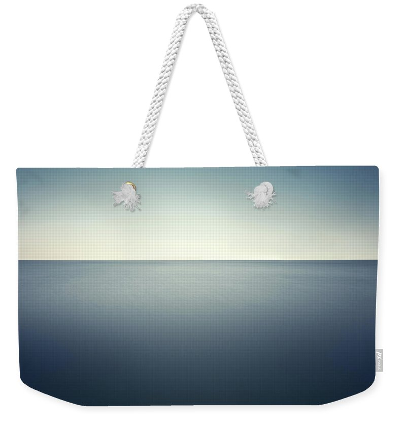 Scenics Weekender Tote Bag featuring the photograph Deep Blue Sea by Ppampicture