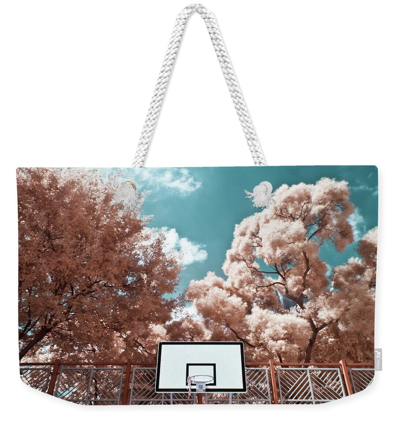 Tranquility Weekender Tote Bag featuring the photograph Digital Infrared Photos by Terryprince