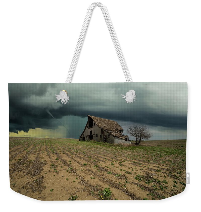 Tornado Weekender Tote Bag featuring the photograph Doomsday by Aaron J Groen