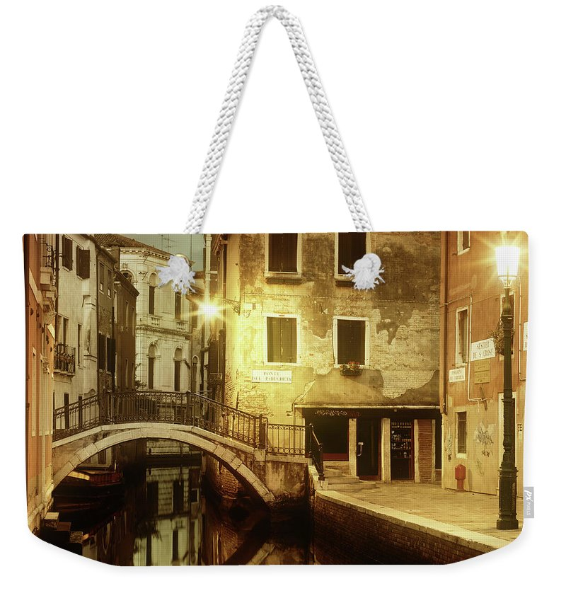 Empty Weekender Tote Bag featuring the photograph Dreaming Venice by Mammuth