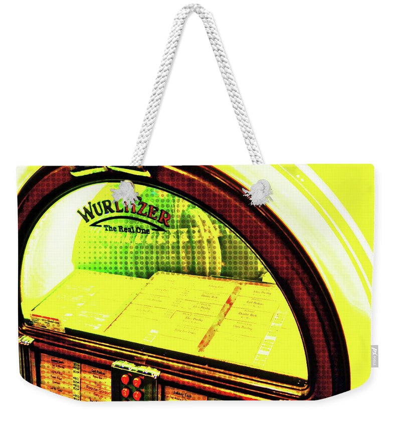 Elvis Weekender Tote Bag featuring the photograph Drop A Dime by JAMART Photography