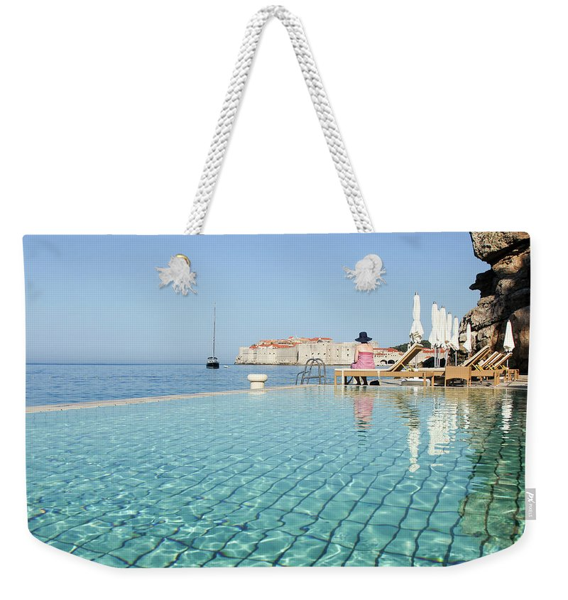 Adriatic Sea Weekender Tote Bag featuring the photograph Dubrovnik In Dalmatia, Croatia by Davidcallan