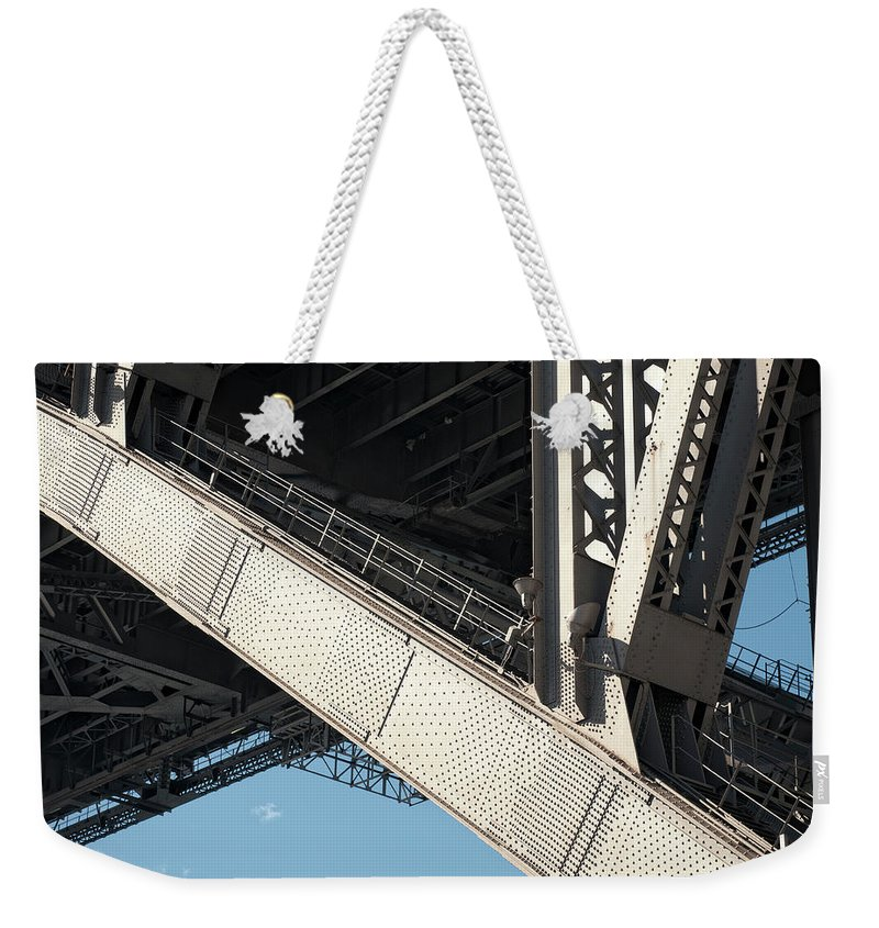 Toughness Weekender Tote Bag featuring the photograph Engineered For Strength by Georgeclerk