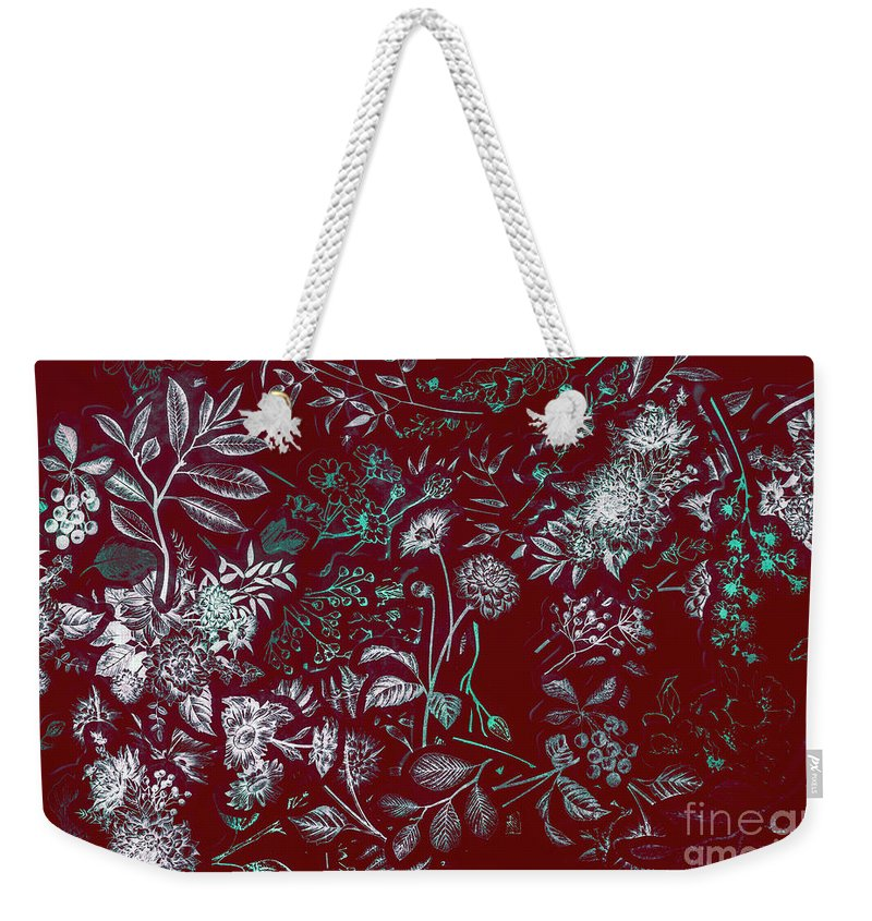 Flower Weekender Tote Bag featuring the photograph Exotic Harmony by Jorgo Photography - Wall Art Gallery