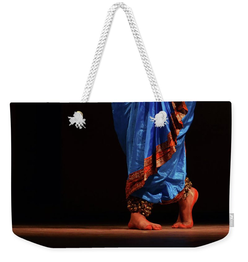 Expertise Weekender Tote Bag featuring the photograph Feet - The Soul Of Dance by Avishek Saha
