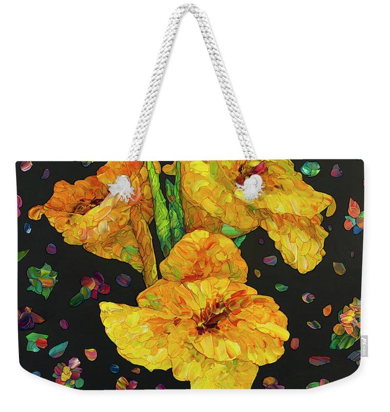 Canna Weekender Tote Bags