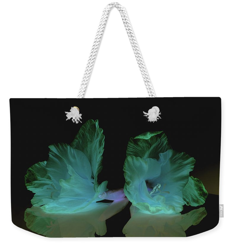 Flower Weekender Tote Bag featuring the photograph Flowers in my dreams by Paulina Roybal