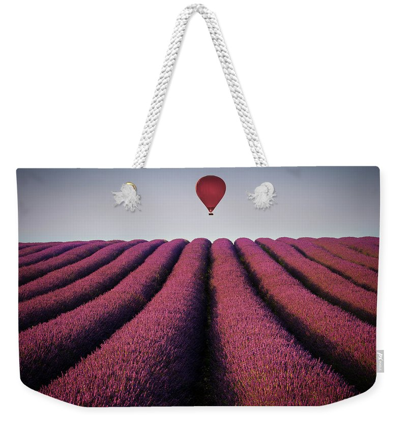 Shadow Weekender Tote Bag featuring the photograph Flying High by Paul Baggaley