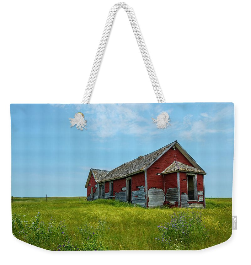 Forgotten Weekender Tote Bag featuring the photograph Forgotten 1 by Aaron J Groen
