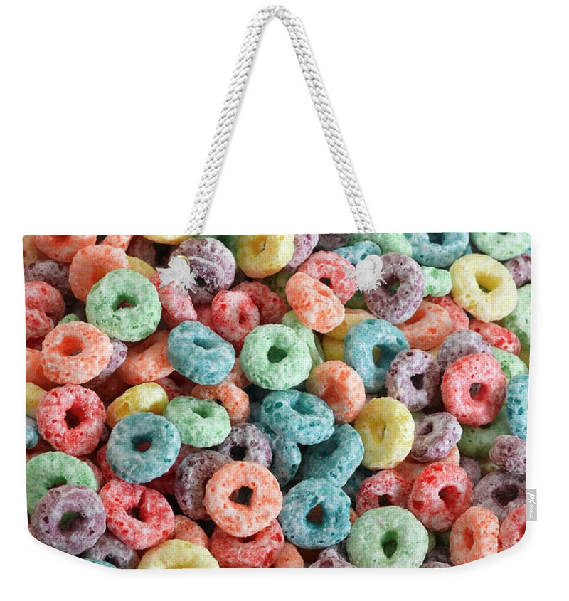 Breakfast Weekender Tote Bag featuring the photograph Fruit Cereal by Adshooter