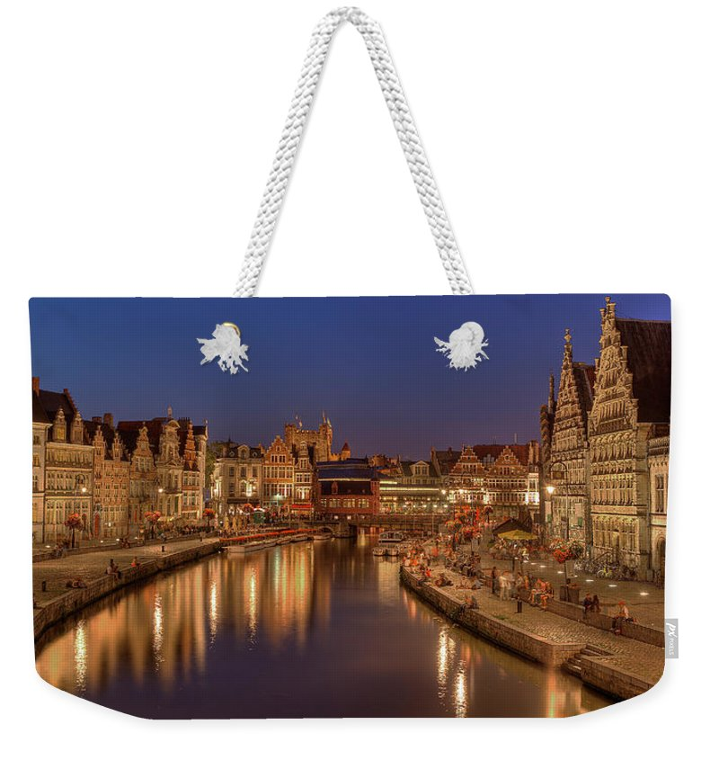 Tranquility Weekender Tote Bag featuring the photograph Gent - 03101119 by Klaus Kehrls