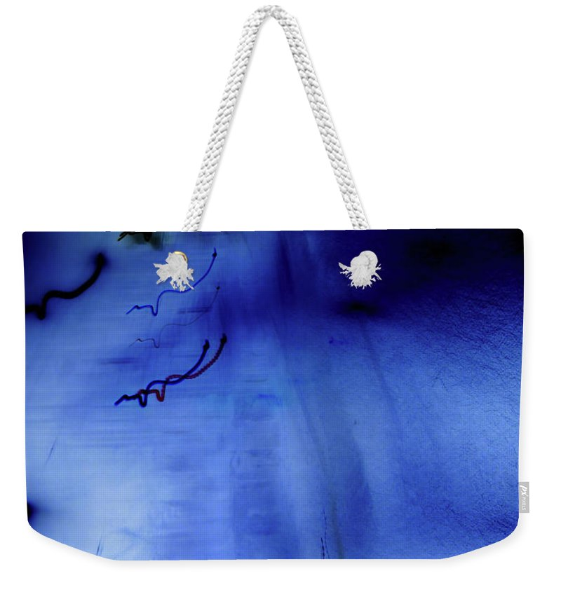 Spooky Weekender Tote Bag featuring the digital art Girl And Birds by Win-initiative/neleman